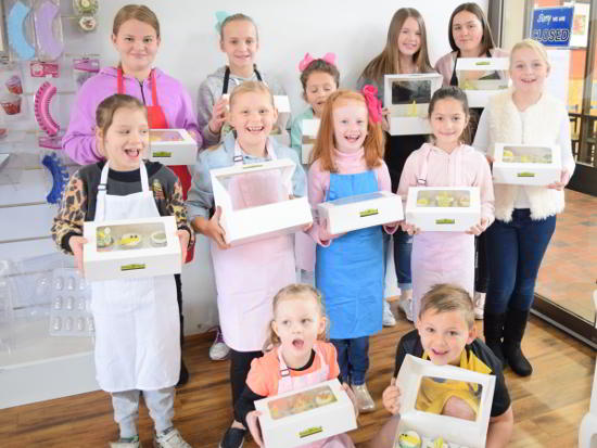 Kids Cake Classes