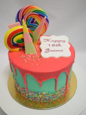 Lollipop cake